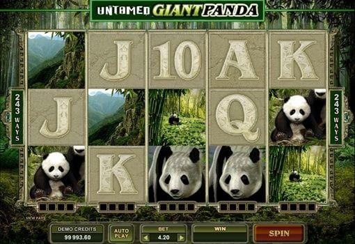 Безкоштовний ігровий автомат untamed giant panda Асбест