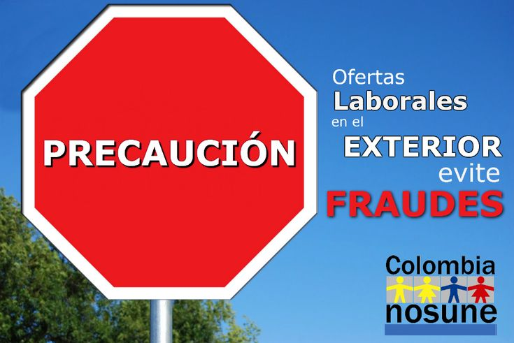 Evite engaños a la hora de aplicar a ofertas laborales fuera de Colombia