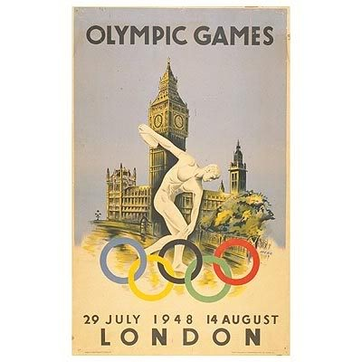 August, 1948. London Olympic Games.