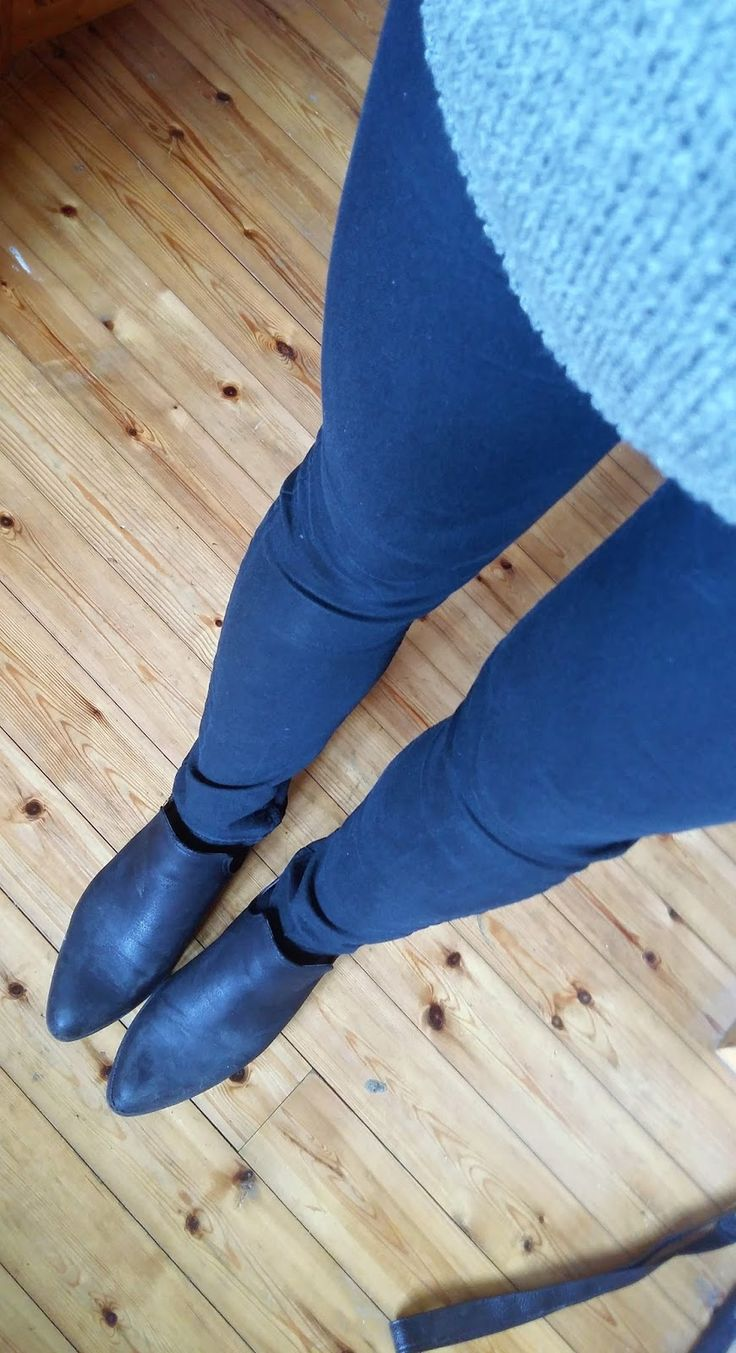 It's all about the pointed toe
