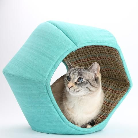 pretty design modern cat bed. The Cat Ball  is a modern cat bed with two openings We use fabric 537 best Home Decor and Catification for Owners in Brown