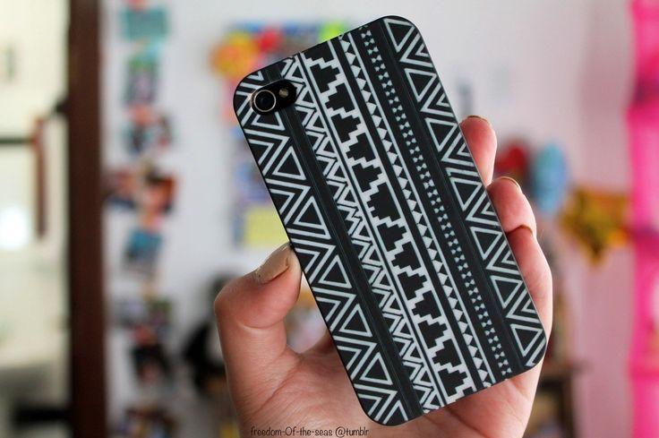 tribal iphone case. ♡