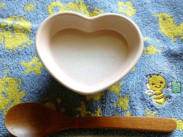 おかゆ 離乳食 初期