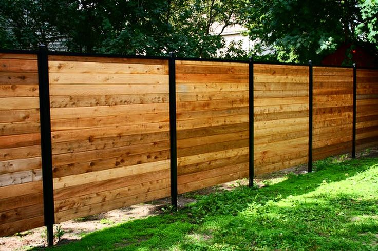 Garden Wall Wood Fence| Fence-All