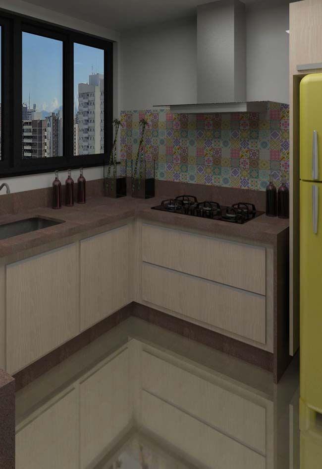 Granito Marrom Castor Em Cozinha Mais Escura Granito Marrom