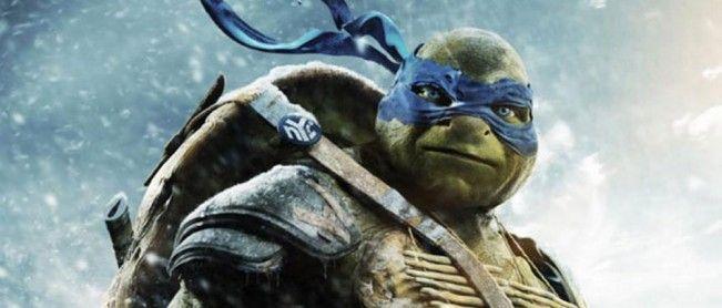 Affiches-personnages avec les tortues de Ninja Turtles.