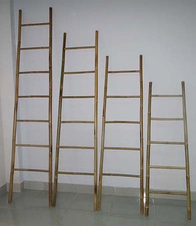 All sizes bamboo ladder from mastergardenproducts.com