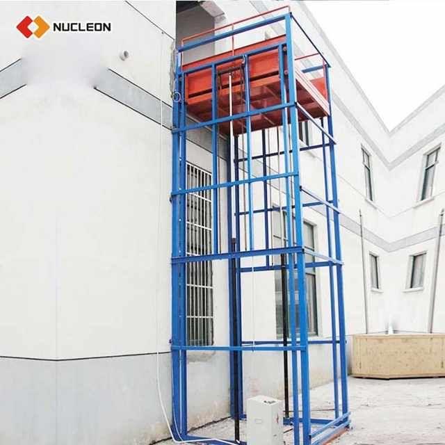 Source Vertical Hydraulic Guide Rail Freight Elevator Lift Vertical Guide Rail Elevators Hydraulic Warehouse Cargo Lift On M Al Garage Lift Xinxiang Hydraulic