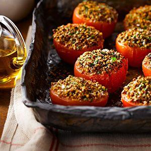 Baked Tomatoes Provençal
