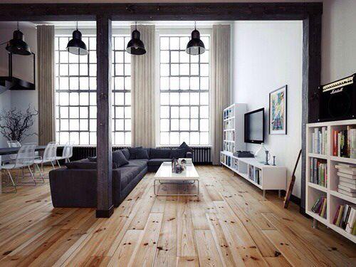 Loft apartment layout