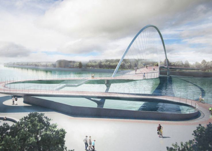 Check Out The Final Four Designs For Londonu0027s New Cycle Bridge