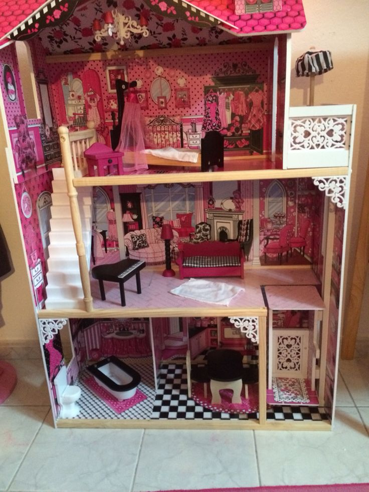 15 best images about maison de poupee on pinterest lack. Black Bedroom Furniture Sets. Home Design Ideas