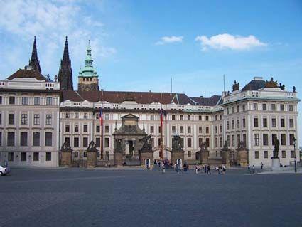 Front Gate of Prague Castle, Czech Republic