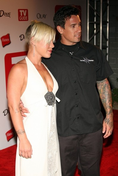 Singer Pink L And Husband Carey Hart Arrives At The 4th Annual TV