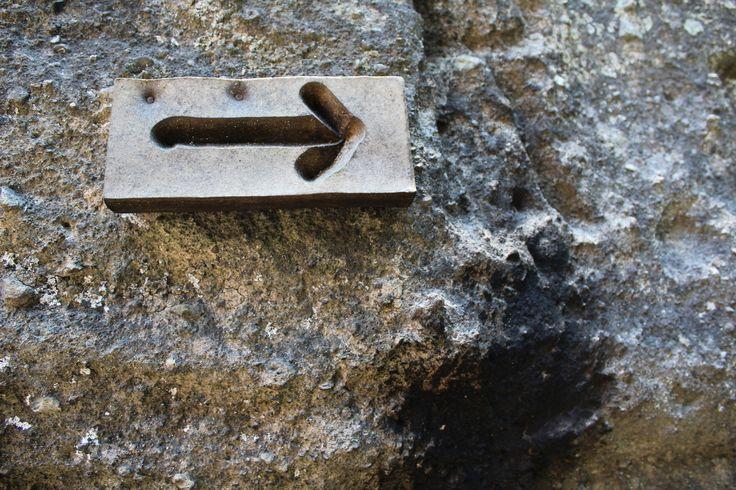 Flecha de madera.