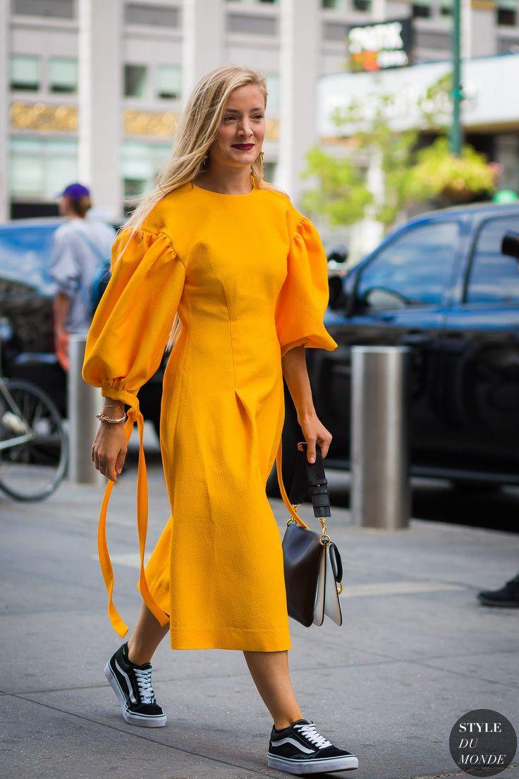 New York SS 2017 Street Style: Kate Foley