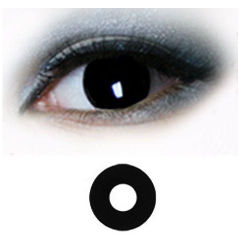 Crazy Piilolinssi -Musta Black Out -1 Vuosi