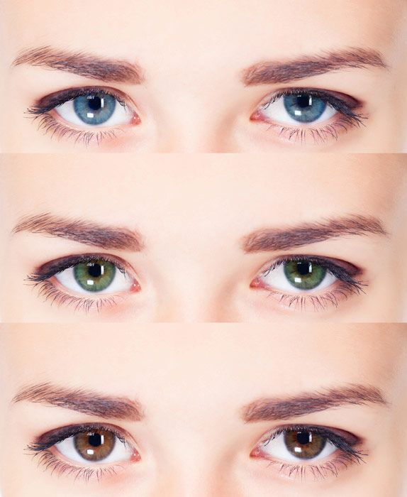 Which colored contacts are right for you?