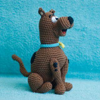 haakhooked: Gehaakte knuffel Scooby Doo