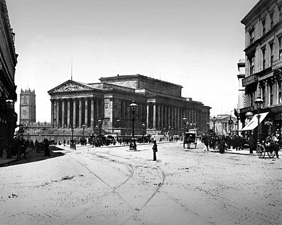 St. George's Hall, Liverpool, 1880s
