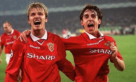 Gary Neville: Timeline of the Manchester United defender's career ...