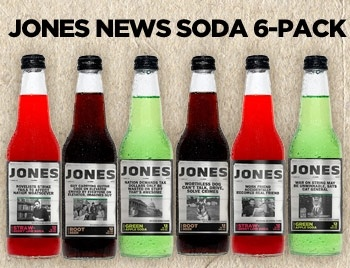 The Onion limited edition Jones soda.