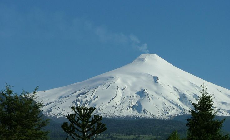Villarrica volcano, Chile.