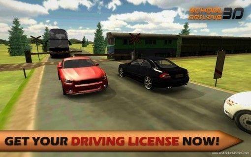 Driving School 3D APK v20171125 (Mod Money/Unlocked) - Android Game