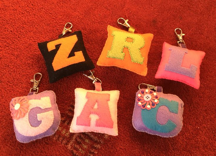 Bag tags made for Christmas presents (2015) Zara, Rowen, Laura, Gwynne, Ailsa & Caitlin
