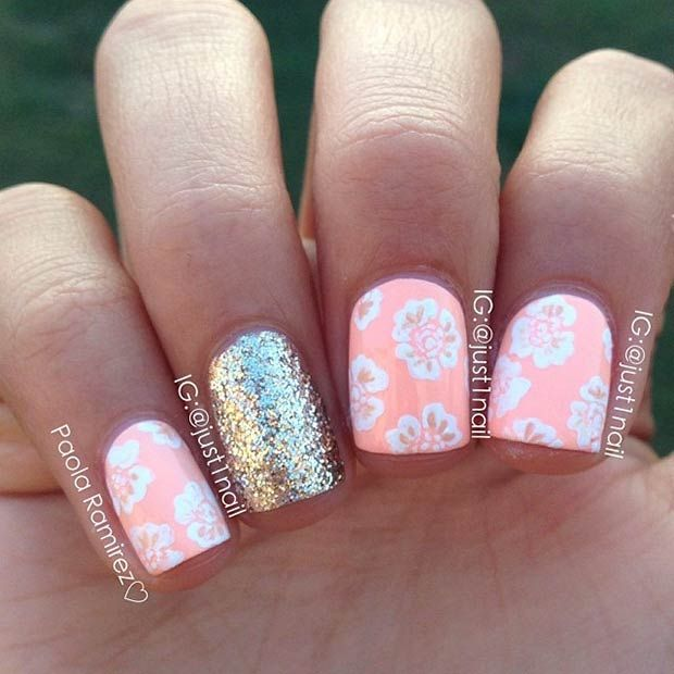 30 Eye-Catching Summer Nail Art Designs - The 1350 Best Summer Nails Images On Pinterest Nail Scissors, Nail