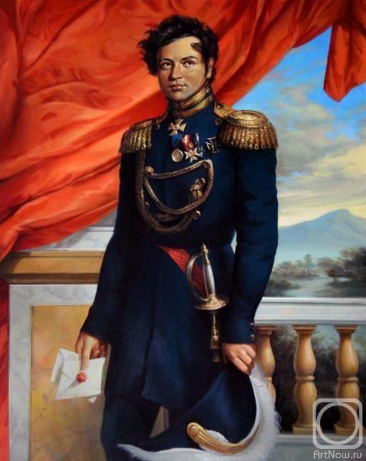 Мещеряков Павел. Яков Алексеевич Потёмкин (1781-1831). Русский офицер Наполеоновских войн (генерал-лейтенант, генерал-адъютант)
