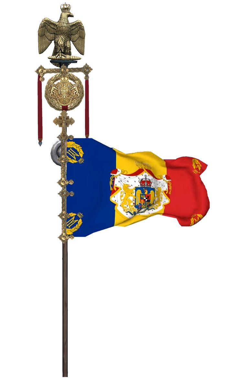 Regalitatea României. Artă Digitală 3D online: Steagurile Regale ale României .Art Concept 3D