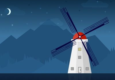 How to Create a Windmill Illustration in Sketch