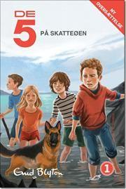 De 5 på Skatteøen af Enid Blyton, ISBN 9788771283648