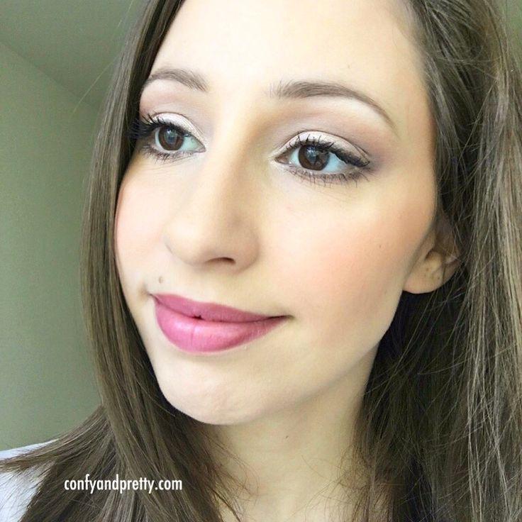 Makeup of the day: Natural makeup in pinkish tones – Μακιγιάζ της ημέρας: Φυσικό μακιγιάζ σε ροζ αποχρώσεις | confyandpretty