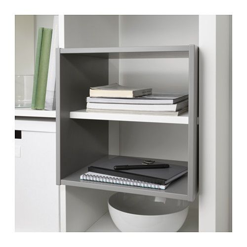 KALLAX Shelf divider IKEA You can use the inserts to customize KALLAX shelf unit so that it suits your storage needs.