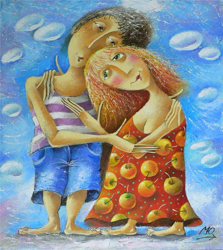 Gallery of romantic Muscovite. - Matsik Yury *** Love and Apples