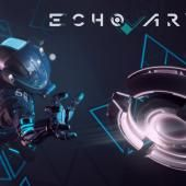 ECHO ARENA is a multiplayer action game that lets players compete in a futuristic sports match in zero gravity. As you learn in the single-player companion game,Lone Echo, you're a humanoid robot named Jack who joins a team and competes against another team. You'll useyour spacesuit's thrusters to propel yourself through this arena, avoiding obstacles and engaging in hand-to-hand combat with others, and then attemptto score on the opposing team by tossing a disc into a net.