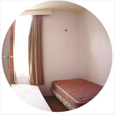 Ann Shelton: Phoenix block, room #56, 2008