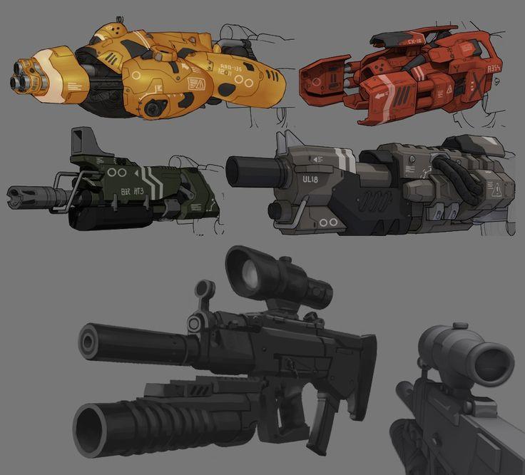 Weapon concept art