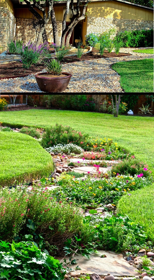 You Can Replace Lawn With Sitting And Entertaining Space