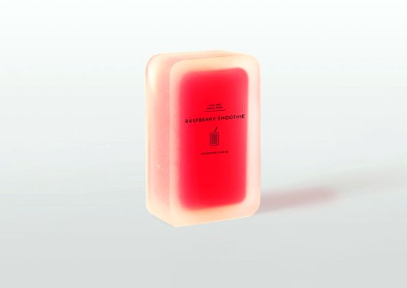 Biodegradable juice box by Sweden-based designers Hannah Billqvist and Anna Glansén of Tomorrow Machine. The box is made from a mixture of agar (an algae-derived, gelatin-like substance) and water. As the drink is depleted from inside, the box begins to shrink. The box almost disappears completely after only one month.