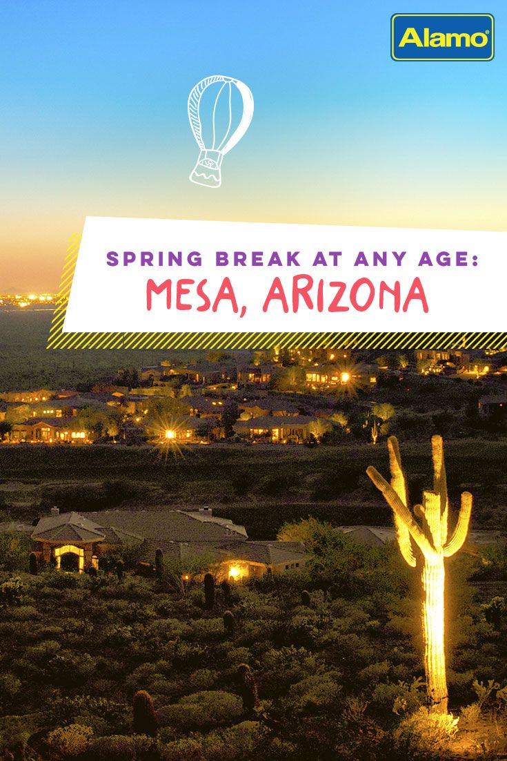 Mesa Arizona is an oasis enjoyed by many spring breakers. Find out what attractions make this destination great at any age. #SpringBreak #Travel