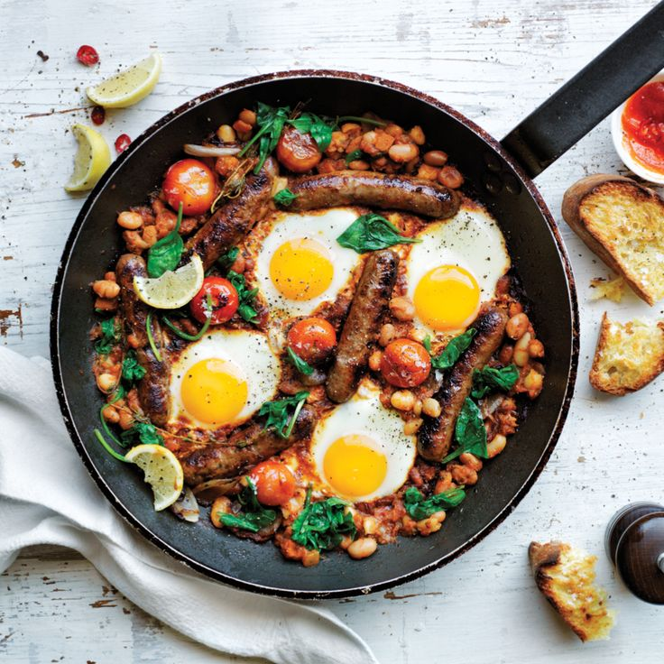 Lunch Ideas Jamie Oliver: Try The Created With Jamie One-pan Brekky With Beef And