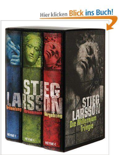 Die Millennium Trilogie: Verblendung - Verdammnis - Vergebung: Amazon.de: Stieg Larsson, Wibke Kuhn: Bücher  Empfehlung von Katja