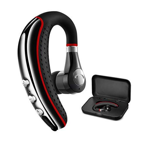 Bluetooth Headset 5 0 Candeo High Fidelity Audio Wireless Bluetooth Earpiece Hands Free Business Earphones With No In 2020 Bluetooth Earpiece Bluetooth Headset Headset