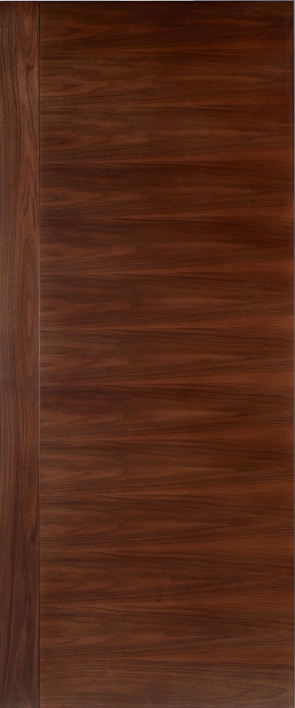 Plain Sliced Walnut Stileline A Modern Interior Beauty Pinterest Doors