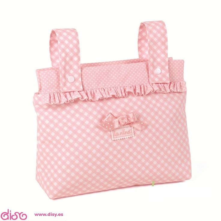 Bolso panera para Cochecitos de muñecas - PAULA rosa La nina