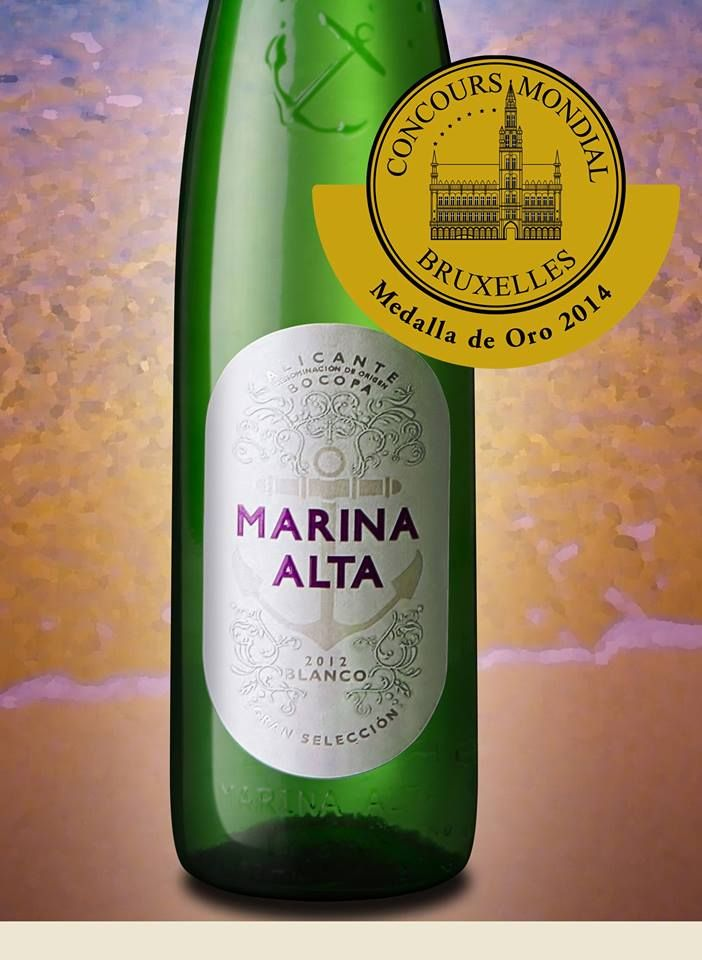¡Estamos de enhorabuena!, nos acaban de comunicar oficialmente que Marina Alta 2013 ha conseguido la medalla de ORO en el Concurso Mundial de Bruselas.   Este prestigioso concurso nació en 1994 y se ha posicionado en el rango de 'campeonato mundial' de la cata