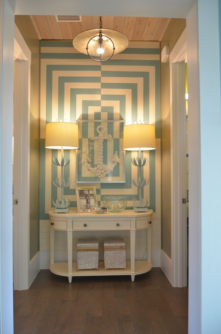 Wall Treatment I Built With 1x4 Wood Hgtv Smart Home